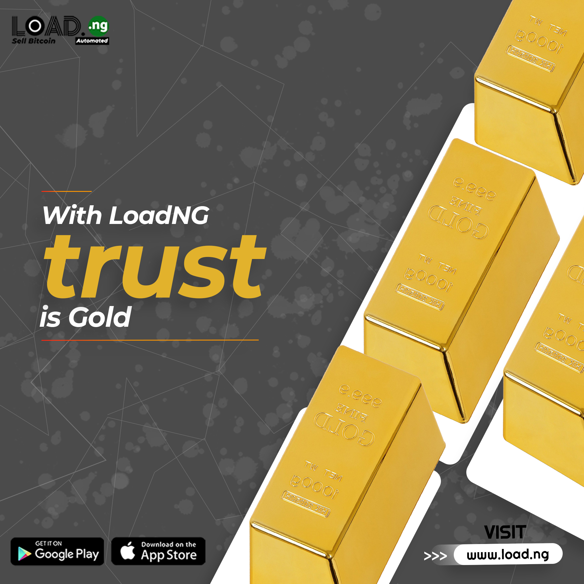 Firm Launches Innovative E-Commerce Service To Solve Bitcoin To Cash Buying Related Issues In Nigeria:LoadNG