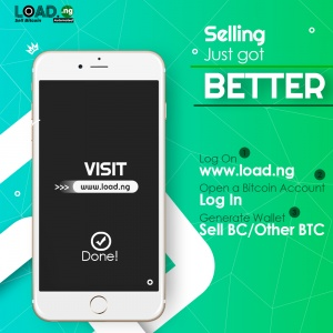 Sell Bitcoin to cash from Blockchain/Coinbase/Binance Others On LoadNG