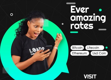 Best crypto exchange rate- LoadNG Present Rate