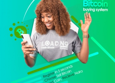 What are the steps to sell bitcoin for cash in Nigeria or other Crypto on LoadNG